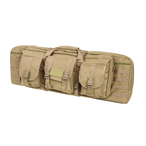 NCStar Double Carbine Case|Tan|36 In