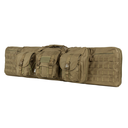 NC Star 46&quot Double Carbine Case, Tan