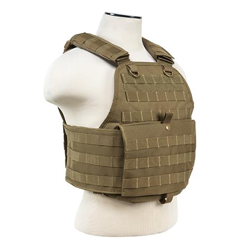NCStar Plate Carrier Vest|Digital Tan