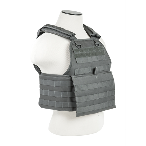 NC Star Urban Gray Plate Carrier Vest