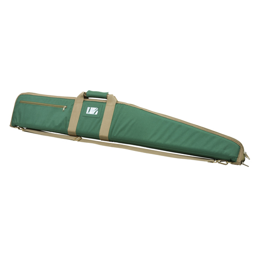 NcSTAR 2958 Series Shotgun Case 48&quotx8&quot with Shoulder Strap Padded Synthetic Forest Green
