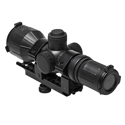 NcStar ARBlack Carry Handle 3-9x42mm Compact Scope Combo