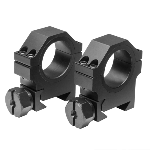 NCStar Weaver Rings 1-inch Inserts Black