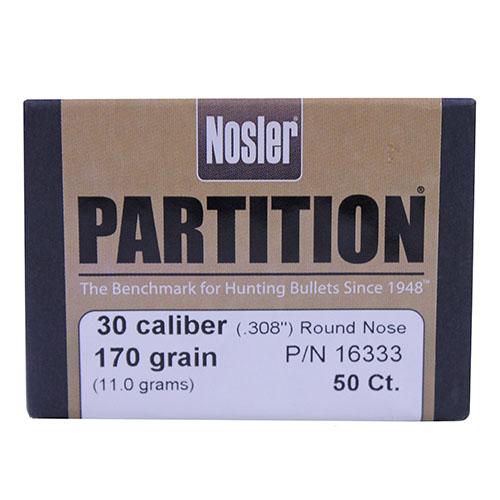 Nosler Ammunition 16333 PARTn 30 170 SPTZR 50