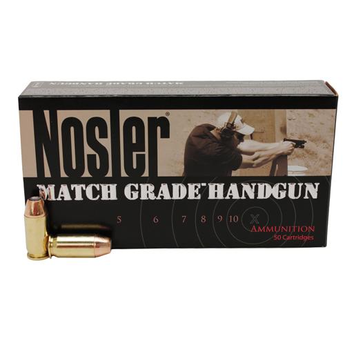 Nosler 51279 Match Grade 40 S&W 180 GR JHP 20 Bx| 20 Cs