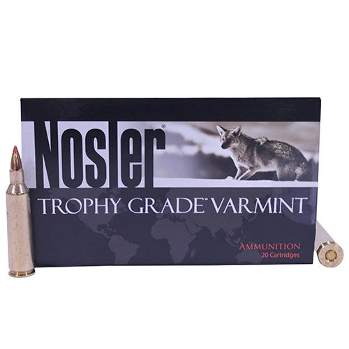 Nosler 60008 Trophy Grade 22-250 Remington 40 GR Ballistic Tip Lead-Free 20 Bx| 10 Cs
