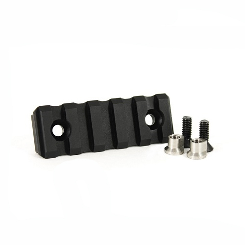 Odin Works 5 Slot Accessory Rail KeyMod Black