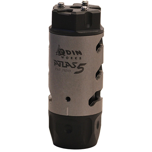 Odin Works Atlas 5 AR-15 Compensator Stainless Steel
