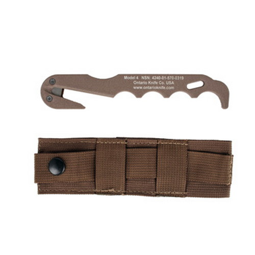 Ontario Knife Co. 4 CB Strap Cutter Rescue Tool