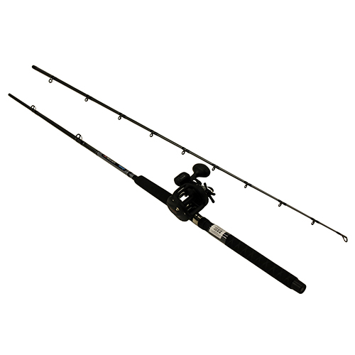 Okuma CPDR-862M-30DXT Great Lakes Trolling Combo 8'6 in.  Length, 2 Piece Rod, Medium Action, 2BB Bearings