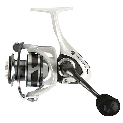 Okuma ISX-20W Inspira Spinning Reel 5.0:1 Gear Ratio, 8BB + 1RB, 13 lb Max Drag, 22.60 in.  Line Retrieve, White
