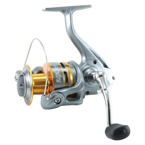 Okuma ROX-40-CL ROX Spinning Reel 5.1: 1 Gear Ratio, 2BB Bearings, 12 lb Max Drag, 29 in.  Line Retrieve