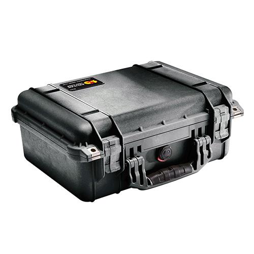 Pelican 1450 Protector Medium Case Polypropylene Black 16 x 13 in.  x 6.875 in.  (Exterior) in.