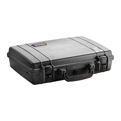 Pelican 1470 Protector Laptop Case Briefcase Polymer Black 16.8 x 12.23 in.  x 4.47 in.  (Exterior) in.