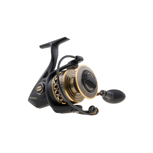 Penn Battle II 4000 Spinning Reel Convertible - Fishing Reels, Spinning Ultralight Reels at Academy Sports