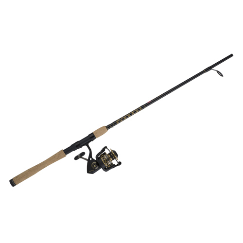 Penn Battle II 7' M Saltwater Spinning Rod and 4000 Reel Combo Black - Fishing Combos, Spinning Combos at Academy Sports