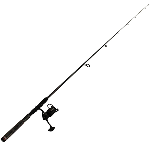 PENN 1366246 Fierce II Spinning Combo 2500, 6.2:1 Gear Ratio, 7' 1pc Rod, 6-12 lb Line Rate, Medium|Light Power, Ambid
