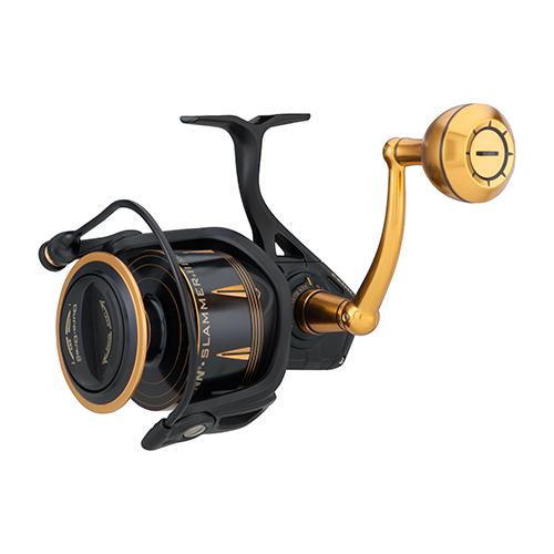 PENN 1403987 Slammer III Spinning Reel 8500, 4.7:1 Gear Ratio, 42 in.  Retrieve Rate, 50 lb Max Drag, Ambidextrous