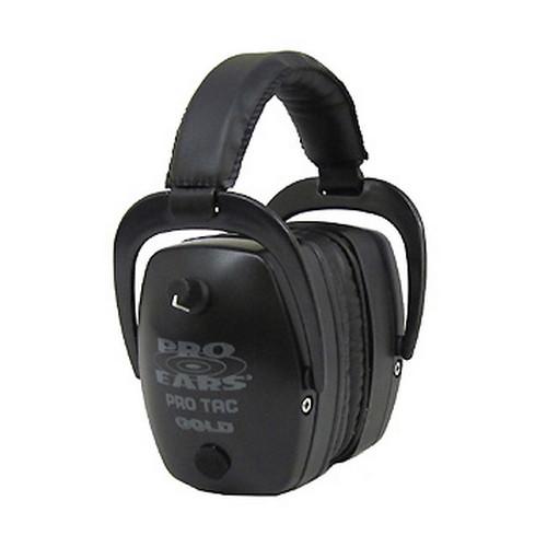 Pro Ears Tac Mag Gold NRR 33 Black