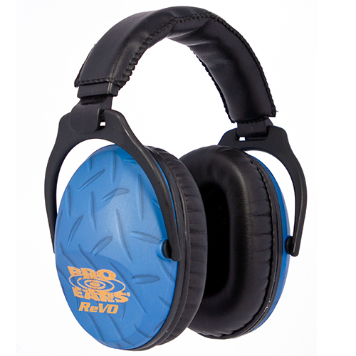 Pro Ears PE26UY010 ReVo Earmuff Blue Diamond Plate