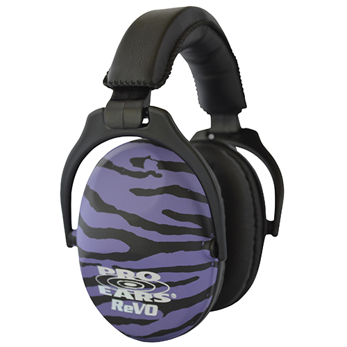 Pro Ears Passive Revo NRR 25 Purple Zebra