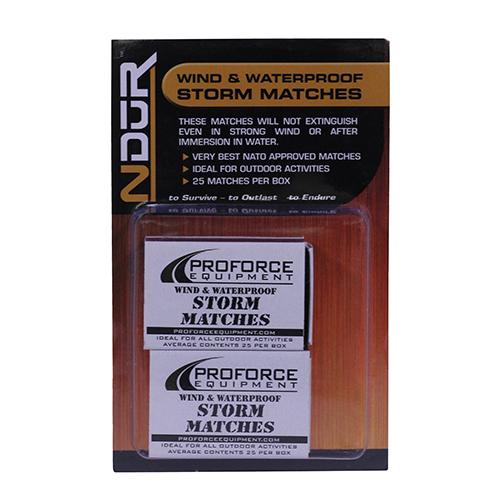 Proforce Equipment Ndur Storm Matches 2 Pack
