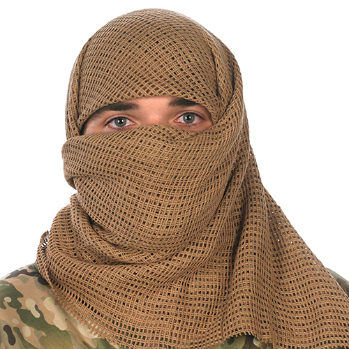 Proforce Equipment Camcon Face Veil Desert Tan