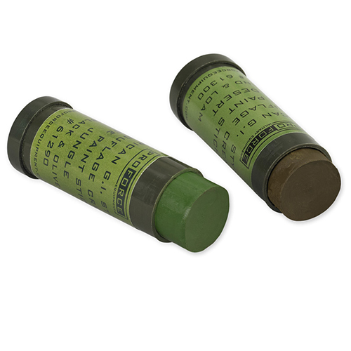 Proforce Equipment Camcon Face Paint Woodland:Green&Loam 2Pk