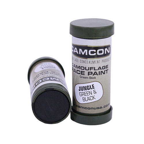 Proforce Equipment Camcon Face Paint Jungle: Green & Blk 2Pk