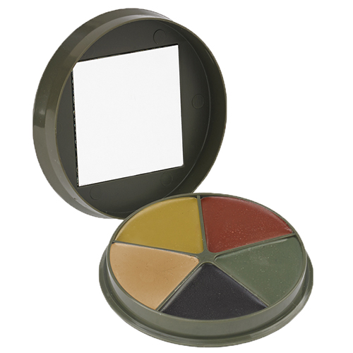 Proforce Equipment Camcon 5 Color Camo CreamCompact w/Mirror
