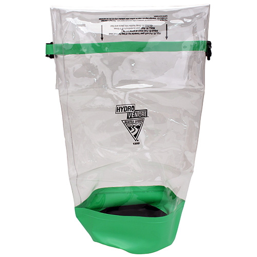 Seattle Sports Glacier Clear Dry Bag, Clear|Lime Large