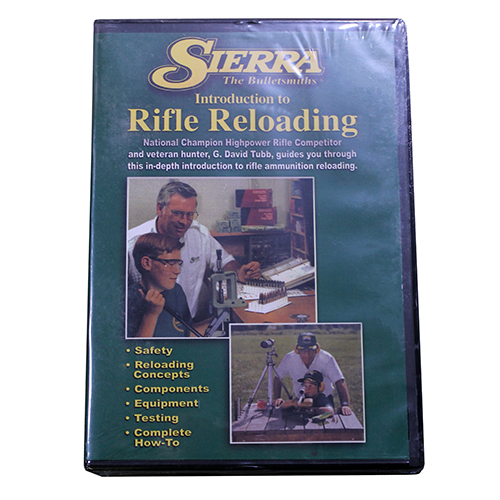 Sierra Bullets 0095DVD Reloading DVD Introduction to Beginning Rifle