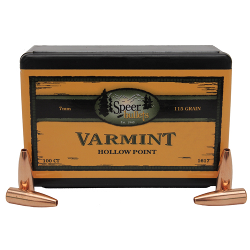 Speer Bullets 2405 Hot-Cor Rifle 338 Caliber .338 200 GR Spitzer Soft Point 50 Box