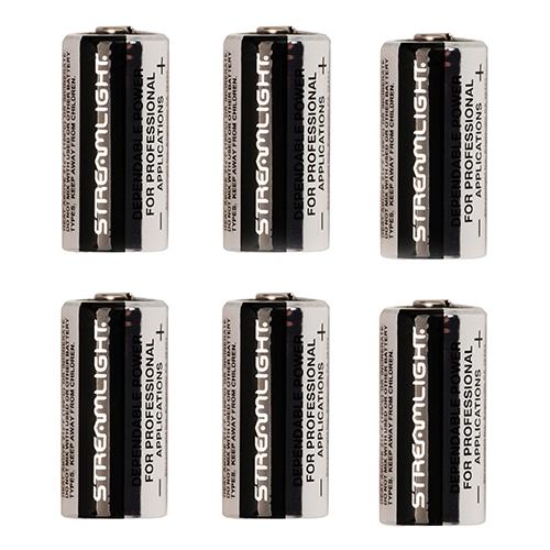 Streamlight 3V Lithium Battery 6|PK