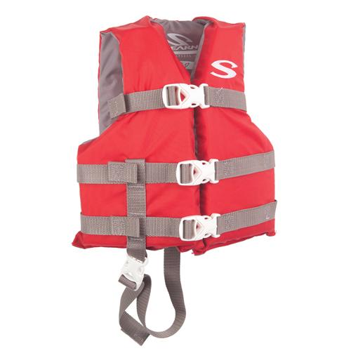 Stearns Child Boating Vest Red