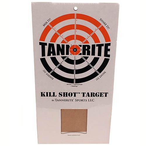 Tannerite Kill Shot Bundle (4 Cardboard Bullseye Target)