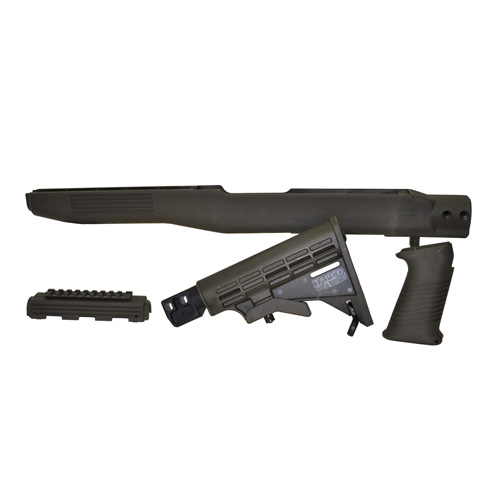 Tapco STK66167G SKS T6 Collapsible Stock with Bayonet Cut Composite OD