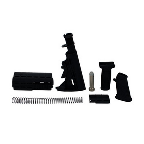 Tapco 16814 Intrafuse AR-15 T6 Composite Stock Set Black