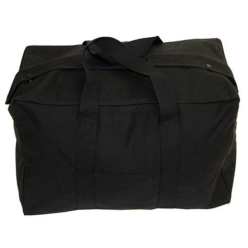 Texsport Parachute Bag 24-inch x 15-inch x 13-inch Black