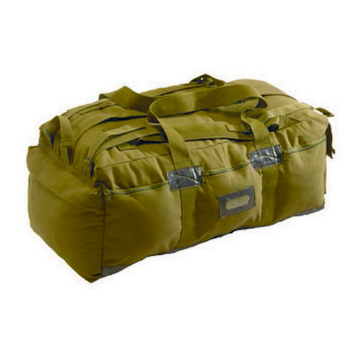 Texsport Tactical Bag Olive Drab Green Canvas With Padded shoulder straps