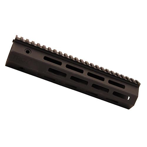 Troy Ind SRAIML190BT0 Battle Rail AR-15 Aluminum Blk