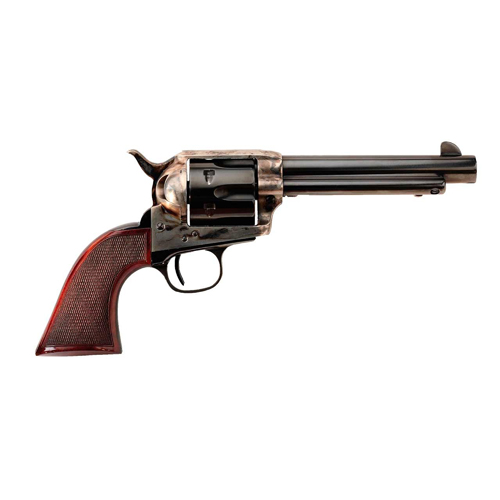 Taylors &, Co. The Smoke Wagon Standard Edition.357 Magnum, 5.5-inch 6rd Blue/ Checkered Walnut