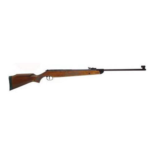 RWS 2166150 350 Magnum Air Rifle Break Barrel .22 Pellet Hardwood Stock Blued