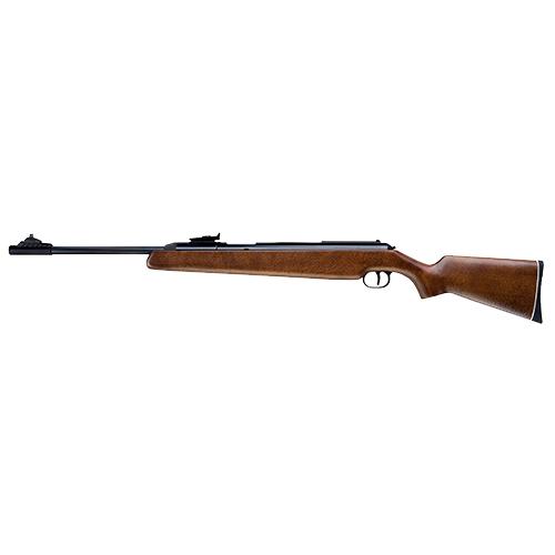 RWS 2166200 48 Air Rifle Side Lever .177 Pellet Hardwood Stock Blued