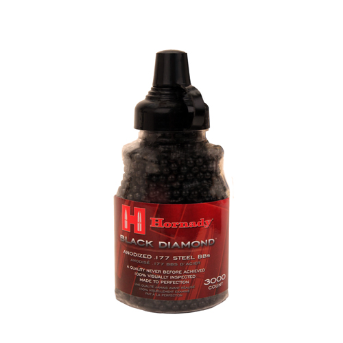 Umarex USA 2211057 Hornady Black Diamond .177 BB Steel 3000