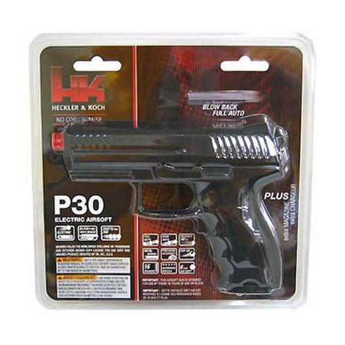 Umarex 2273010 Heckler and Koch P30 Electronic Airsoft Air Gun Pistol