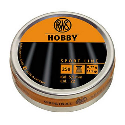 RWS Pellets .22 HOBBY 250/TIN