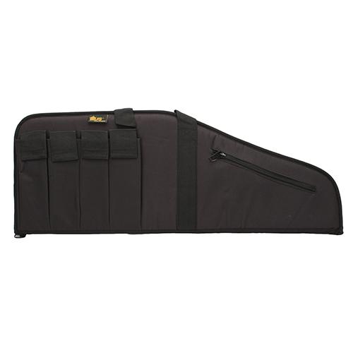 US PeaceKeeper P20035 MSR 35 Rifle Case 600 Denier Black in.