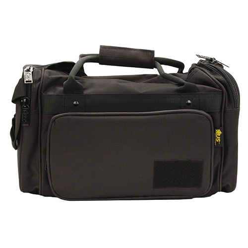 US PeaceKeeper P21115 Medium Range Bag 600 Denier 18 x 10 in.  x 10 in.  Black in.