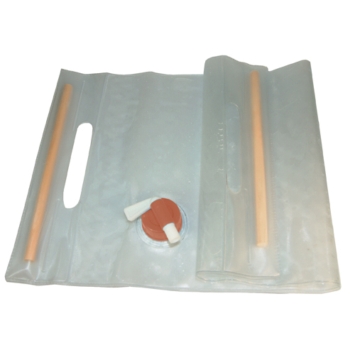 Ultimate Survival Technologies Water Carrier, Clear Roll-Up 10 Liter